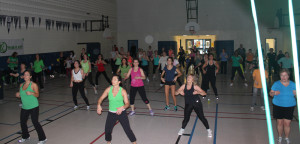 walk it off recovery fundraising zumba
