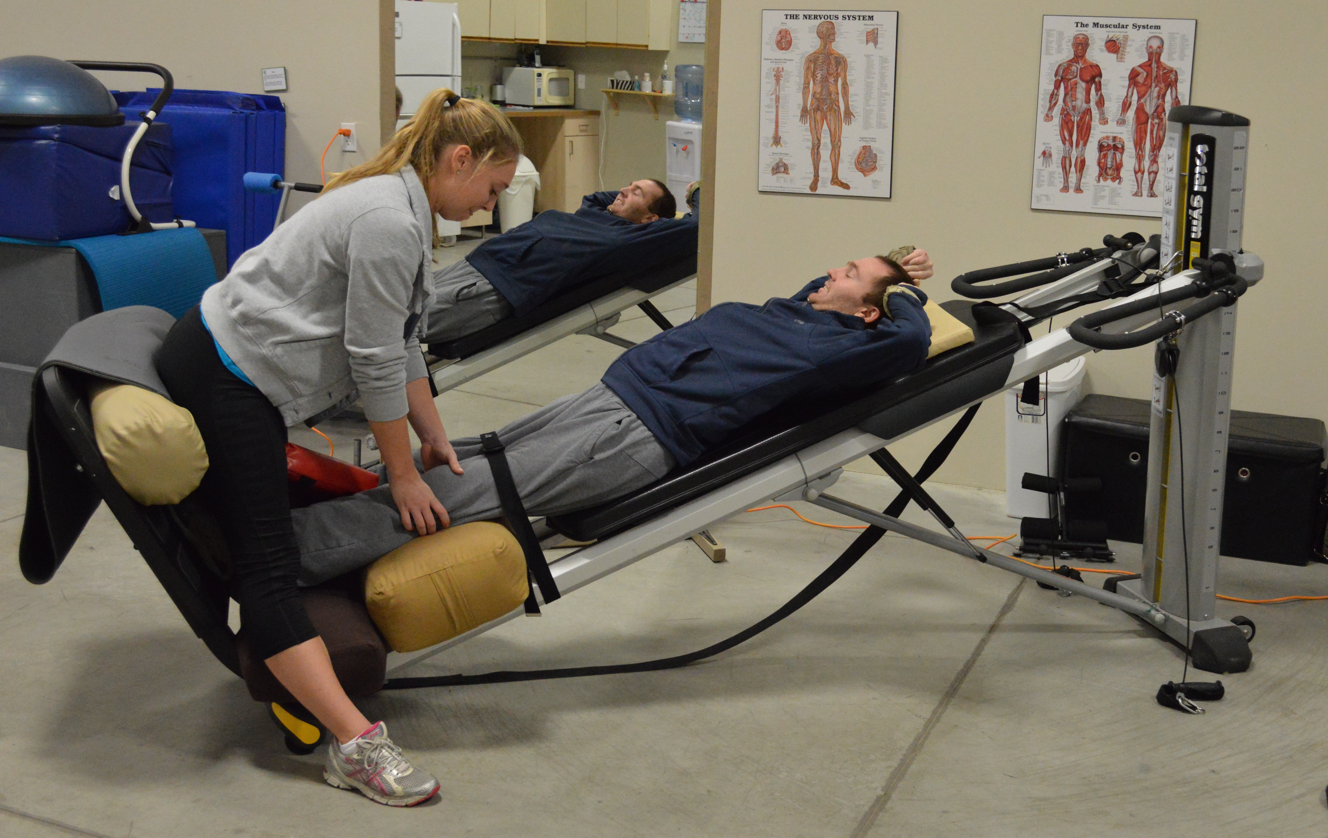 Spinal cord wellness centre newmarket walk it off spinal for Gimnasio total