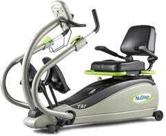 NuStep recumbent cross-trainer